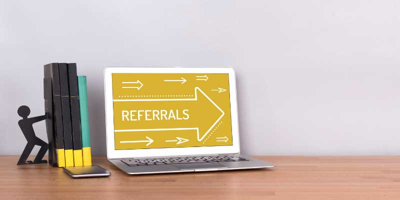how are you building your referral tree