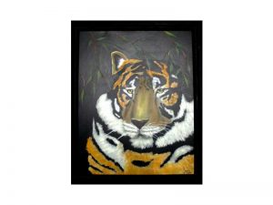 Bengal Tiger Painting by Kathy Martel