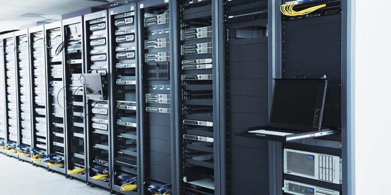 backup storage in it server room