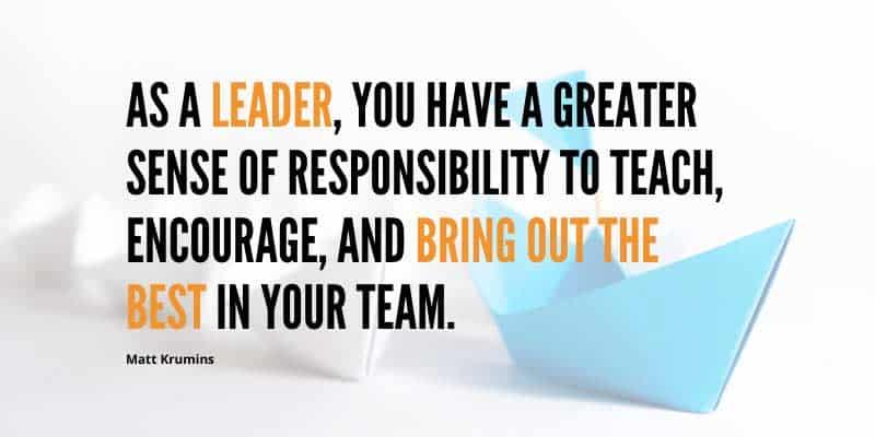 leadership responsibility
