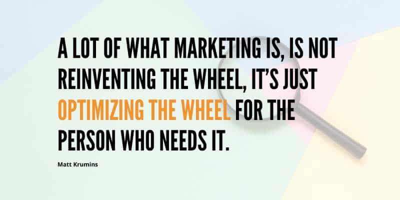 optimizing the digital marketing wheel