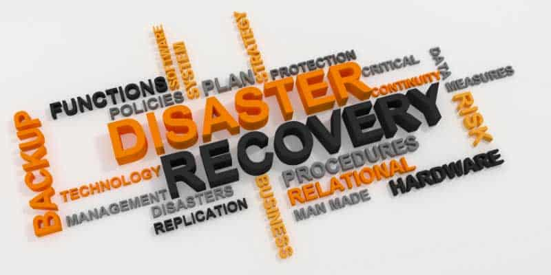 disaster recovery msp plan