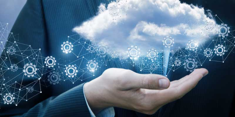 business with economic benefits from cloud data