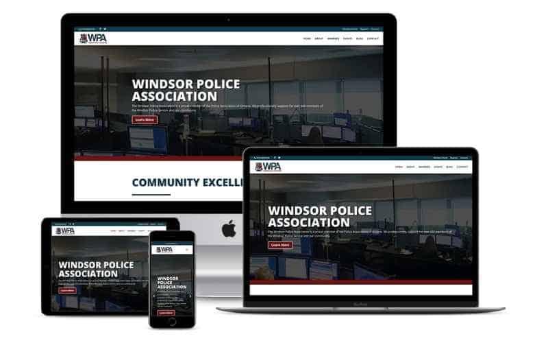 windsor-police-association-responsive-website-design